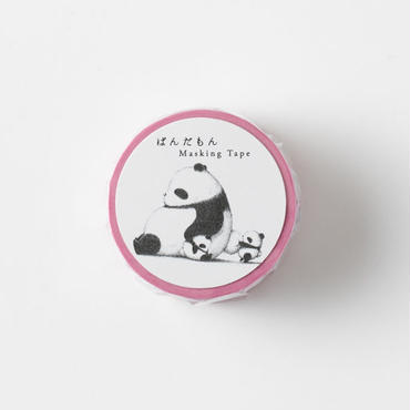 PANDAMON MASKING TAPE-PINK