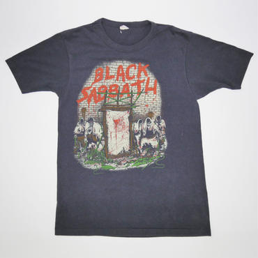 BLACK SABBATH MOB RULES TOUR'82  VINTAGE  T-SHIRT