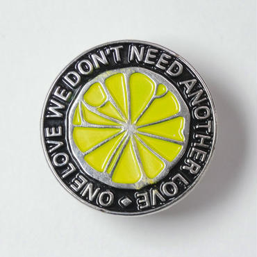 THE STONE ROSES   ONE LOVE PIN