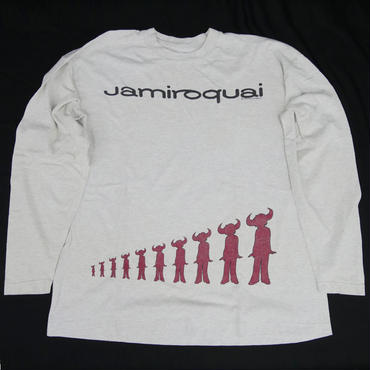 JAMIROQUAI  LONG SLEEVE  T-SHIRT
