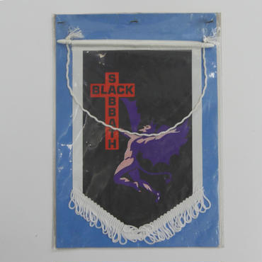 BLACK SABBATH  VINTAGE  WALL FLAG