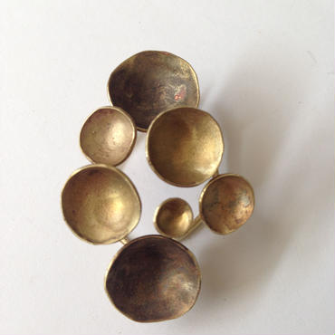 Necklace -brass  #008