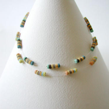 Mini-B Double - Prairie double short necklace