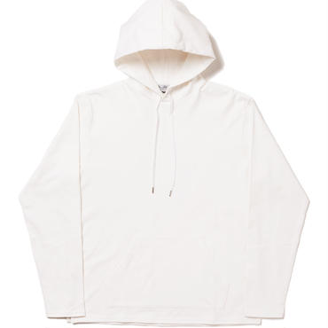 BAL - HEAVY COTTON HOODED TOP - WHITE