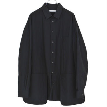 DISCOVERED - BIG SILHOUETTE SHIRT - BLACK