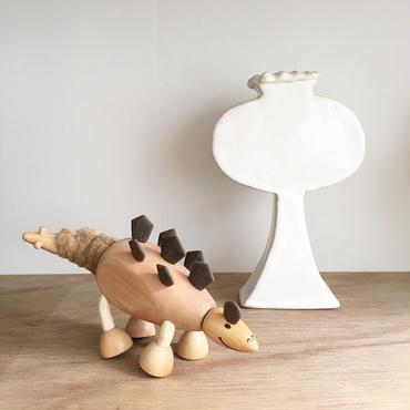 ANAMALZ 木のおもちゃ(ステゴザウルス)
