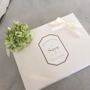 出産祝 プレゼントボックス Lサイズ(お誕生日祝)