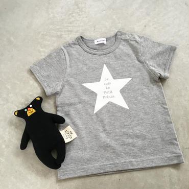 Baby 星の王子さまTシャツ(グレー)