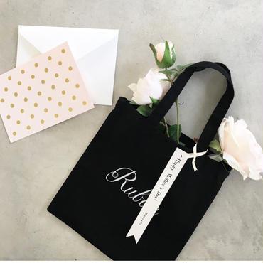 Rubanのミニトート&バラのペン カード付き