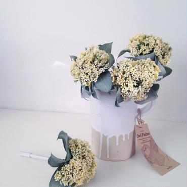 小花のフルール(レモンイエロー)