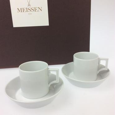 【福 袋】マイセン 2点セット(エスプレッソカップ&ソーサー ペア)