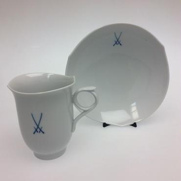【マイセン】マイセン NEWマイセンマーク コーヒーカップ&ソーサー  28582