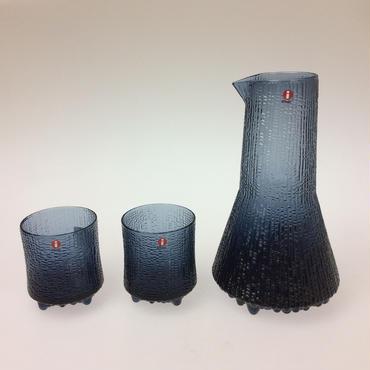 【イッタラ】ウルティマツーレ  カラフェ&オールドファッション  3ピースセット レイン