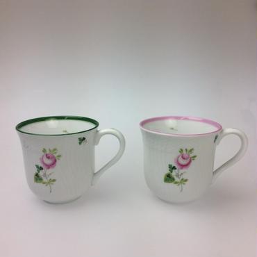 【ヘレンド】ウィーンのバラ マグカップ250cc  1729  グリーン/ピンク