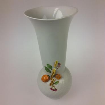 【マイセン】花瓶  オレンジ No.39 719391/50313