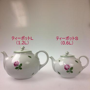 【アウガルテン】 ウインナーローズ ティーポット(S)
