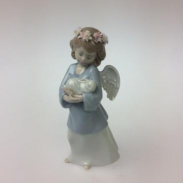 【リヤドロ】天使の宝物 6856