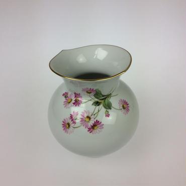 【マイセン】花瓶  No.26 ピンクの花 039210