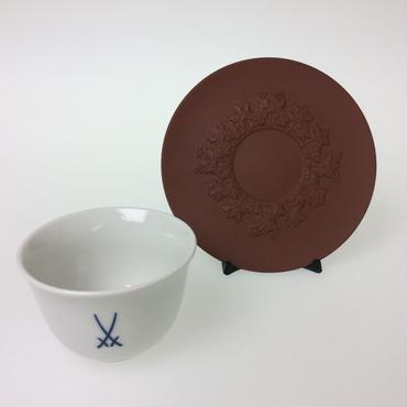【マイセン】マイセンマーク カップ&ソーサー*ブドウ 85757