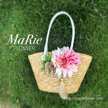 肩掛け Flower Bag【Dahlia タッセル付】