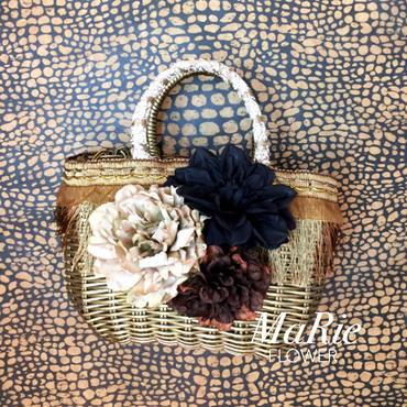 Flower Bag Gold M          [FRINGE Gold]