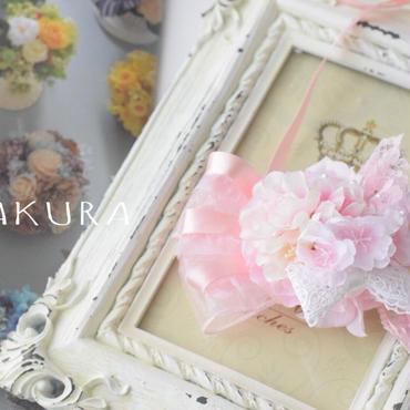 【限定】ふんわり桜チョーカー