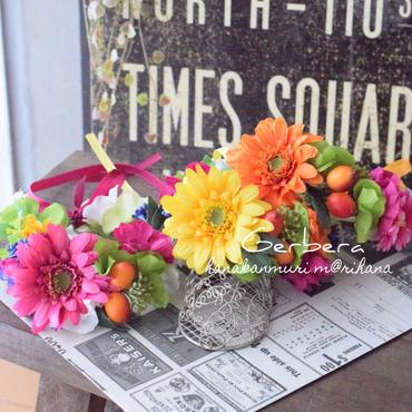 オリエンタル花かんむり