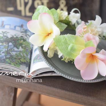 【再販】プルメリアの花かんむり