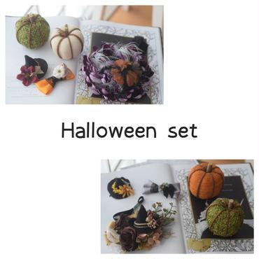 Halloween お得セット・パンプキン付き