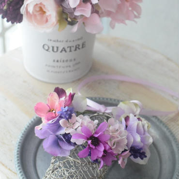 【m様オーダー】花かんむり