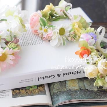 春色花かんむり ラナンキュラス&マーガレット