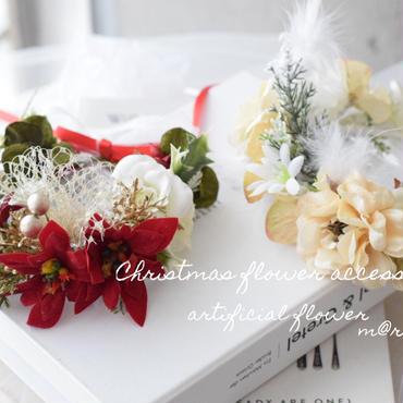 【ご予約】クリスマス花かんむり