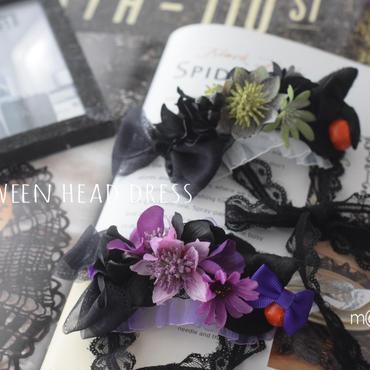 【ご予約】Halloweenヘッドドレス風アクセサリー