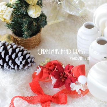 【ご予約】クリスマスヘッドドレス