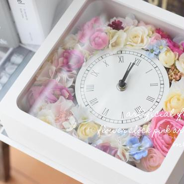 【S様専用ページ】花時計・ホワイト