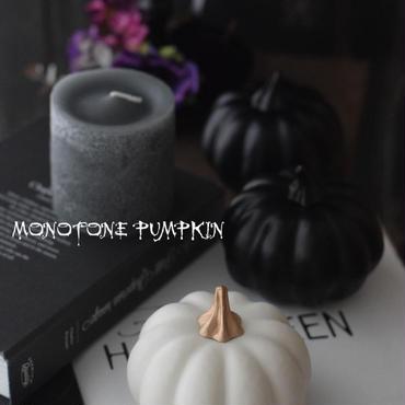 ハロウィン撮影小物 ・ブラック&ホワイトパンプキン