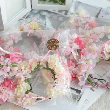 【3点セット】さくらチョーカー&花かんむり