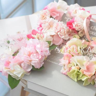 桜🌸花かんむり