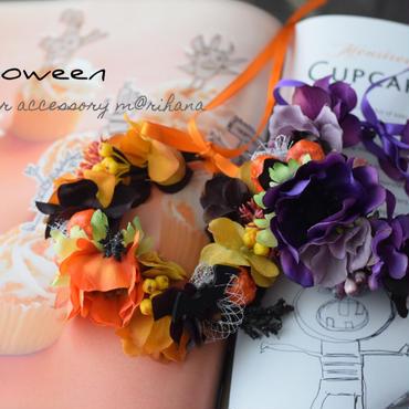 【ご予約受付】ハロウィン花かんむり