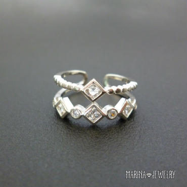 multiple Ring - silver