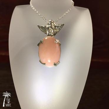 天使の祈り - オパールのネックレス