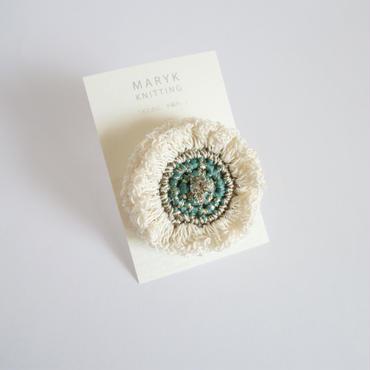 Frill Flower(L)ブローチ*180 送料込