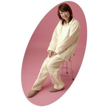[龍宮] パシーマ衿ありパジャマ Mサイズ (女性のL相当)