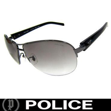 POLICE ポリス サングラス ティアドロップ S8690J 568F チタンフレーム 国内正規代理店商品