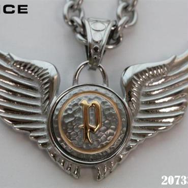 POLICE ポリス ダブルウィング ペンダント ネックレス (N)
