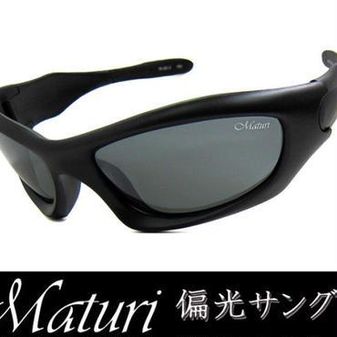 Maturi マトゥーリ 偏光サングラス ケース付き スポーツタイプ TK-001-02