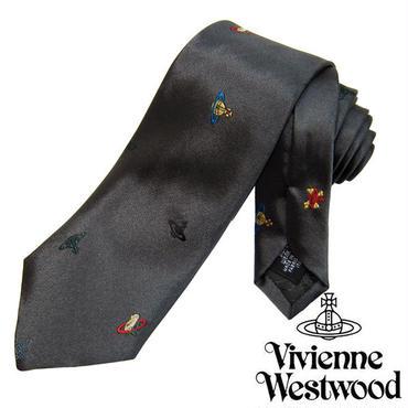 Vivienne Westwood ヴィヴィアンウエストウッド ネクタイ新柄 (614)