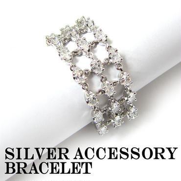シルバー アクセサリー ブレスレット バングル 腕輪 925 (44)