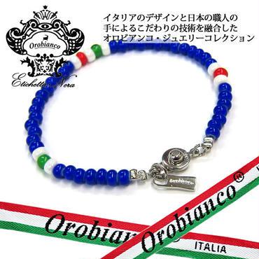 日本製 Orobianco オロビアンコ ブレスレット ビーズ アクセサリー (385)