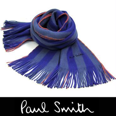 Paul Smith ポールスミス マフラー フリンジ マルチストライプ (45)